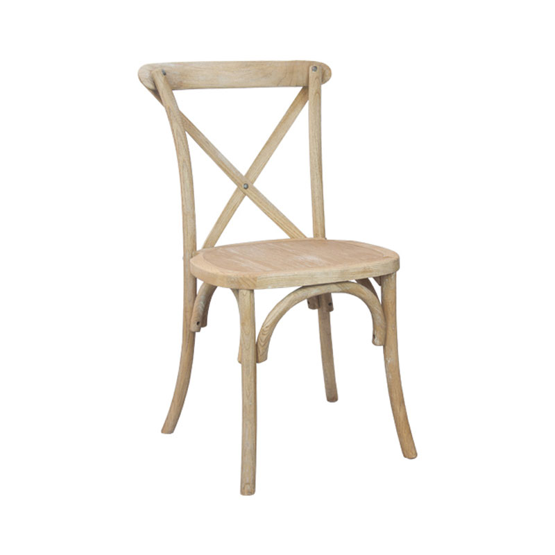 Natural White Grain Bistro Chair
