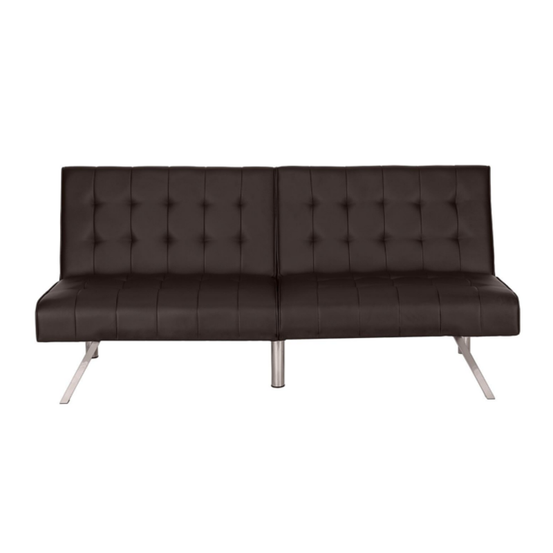 Morgan Faux Leather Couch