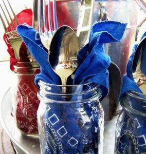 Individual Serveware Mason jars