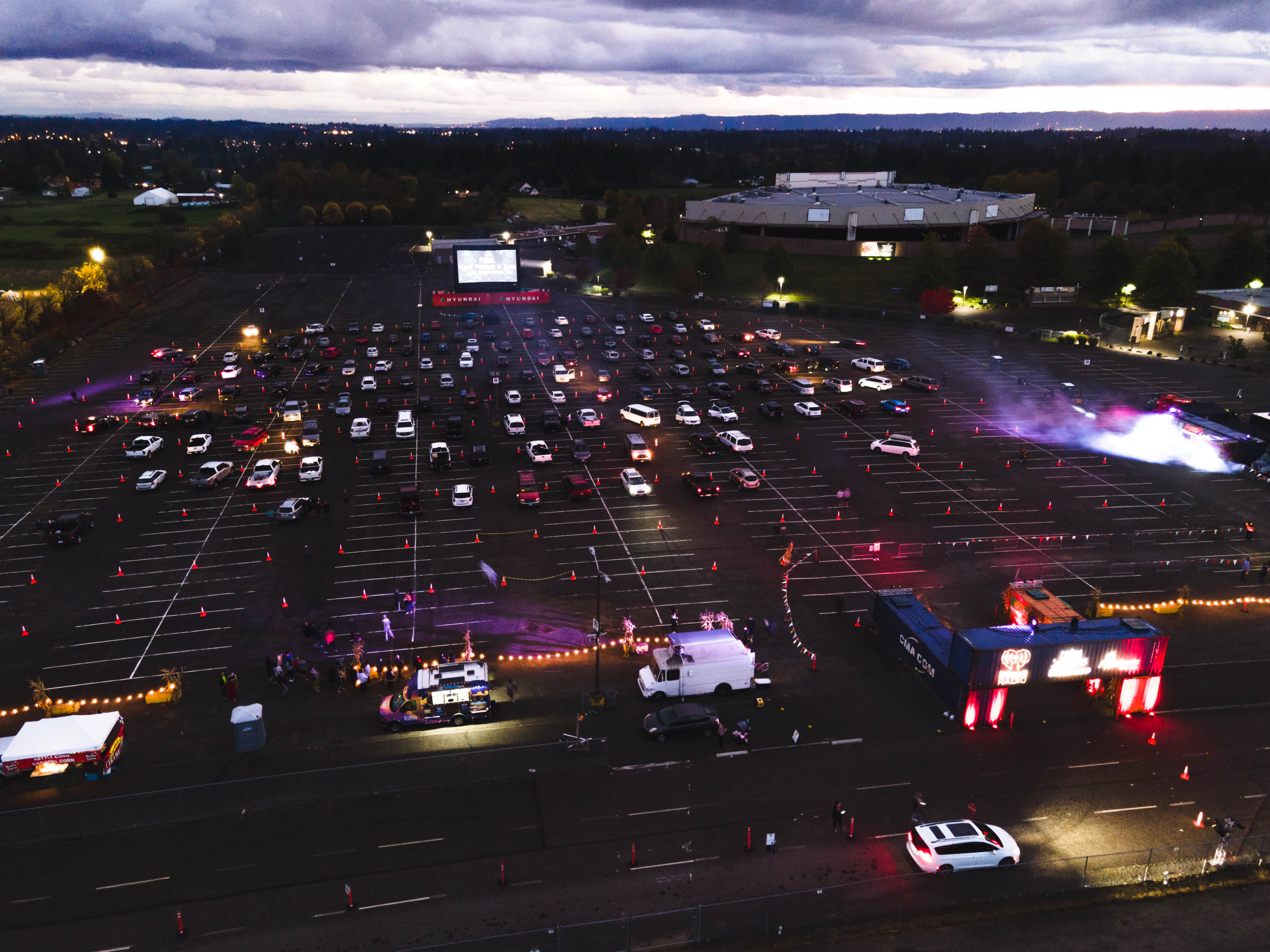 Drive-In Event Planning
